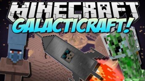 Galacticraft 1.12.2, 1.11.2, 1.8.9, 1.7.10