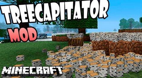 TreeCapitator 1.12.2, 1.11.2, 1.8.9, 1.7.10