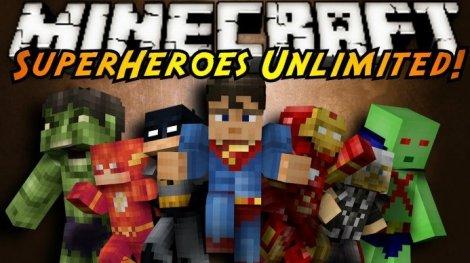 Мод на супергероев - Super Heroes 1.7.10