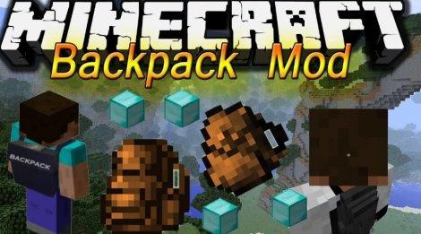Мод на рюкзаки - Backpacks 1.13, 1.12.2, 1.11.2, 1.8.9, 1.7.10