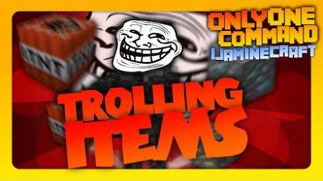 Trolling Items 1.11.2, 1.8.9, 1.7.10