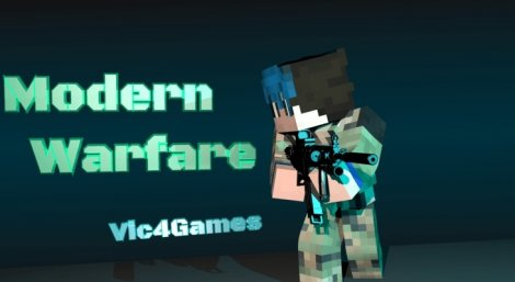 Мод на оружие - Vic's Modern Warfare 1.15.2, 1.15.0, 1.14.2, 1.12.2, 1.7.10