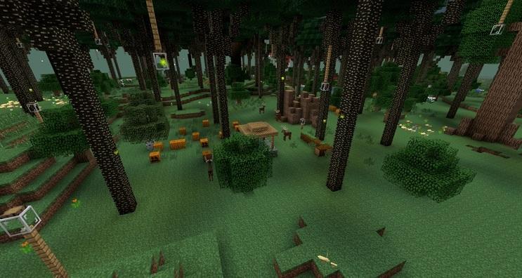 Скачать мод на майнкрафт на сумеречный лес 1. 8.