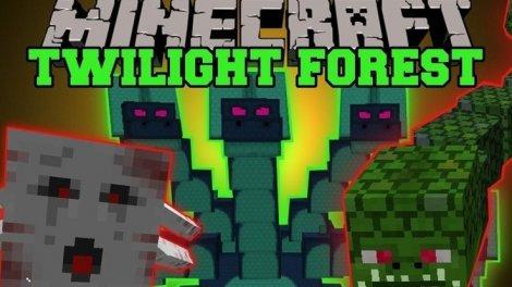 Мод на Сумеречный лес - The Twilight Forest 1.12.2, 1.8.9, 1.7.10
