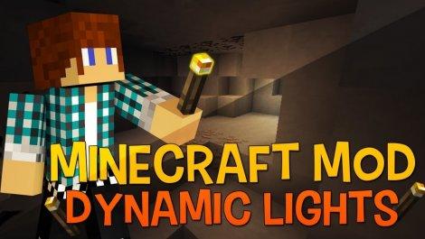 Мод на динамическое освещение - Dynamic Lights 1.12.2, 1.11.2, 1.8.9, 1.7.10