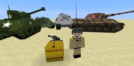 World War Two Pack 1.12.2, 1.8.9, 1.7.10