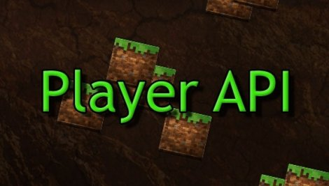 Player API 1.11.2, 1.8.9, 1.7.10