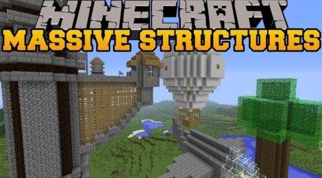 Мод на быстрые постройки - Instant Massive Structures 1.12.2, 1.11.2, 1.8.9, 1.7.10