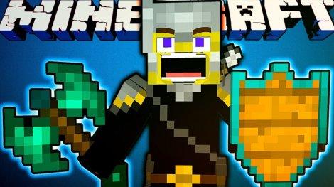 Mine & Blade: Battlegear 2 (оружие в двух руках) 1.8.9, 1.7.10