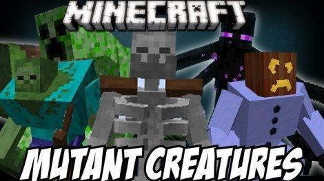 Мод на мутантов - Mutant Creatures 1.8.9, 1.7.10