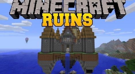 Мод на руины - Ruins 1.12.2, 1.11.2, 1.8.9, 1.7.10