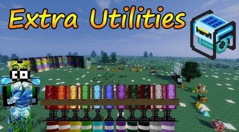 Extra Utilities 1.12.2, 1.11.2, 1.8.9, 1.7.10