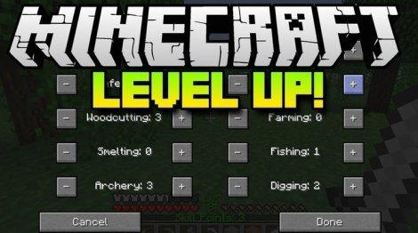 Level Up 1.12.2, 1.11.2, 1.8.9, 1.7.10