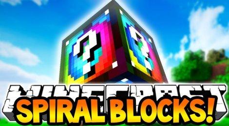 Lucky Block Spiral 1.8.9, 1.7.10