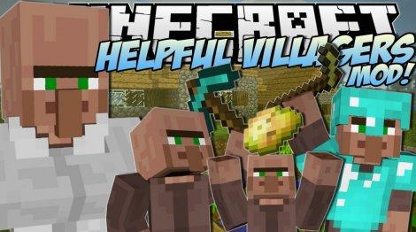 Helpful Villagers 1.7.10