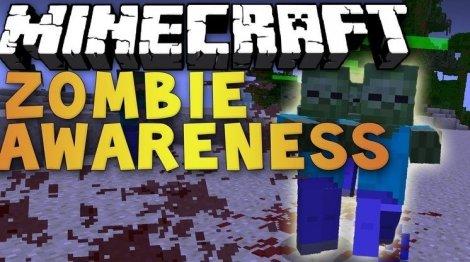 Zombie Awarenes 1.12.2, 1.11.2, 1.8.9, 1.7.10