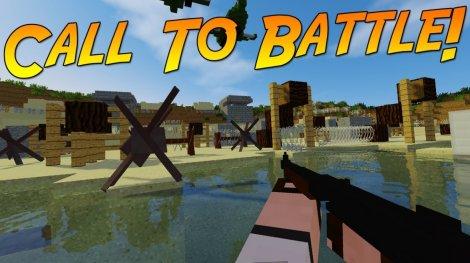 Мод на 2 Мировую войну - Call to Battle 1.7.10