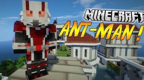 Мод на Человека муравья - AntMan 1.8.9, 1.7.10