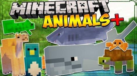 Мод на животных - Animals Plus 1.8.9, 1.7.10