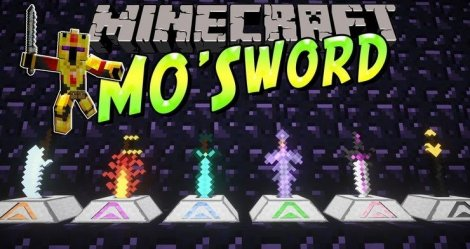 Мод на мечи - More Swords 1.12.2, 1.8.9, 1.7.10