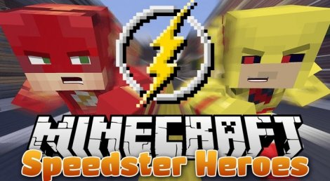 Speedster Heroes 1.12.2, 1.12