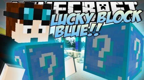 Lucky Block Blue 1.8.9, 1.7.10