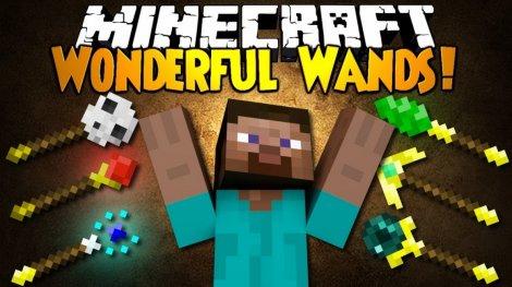 Мод на волшебные палочки - Wonderful Wands 1.11.2, 1.8.9, 1.7.10