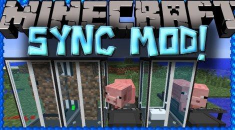 Мод на клонов - Sync 1.12.2, 1.7.10