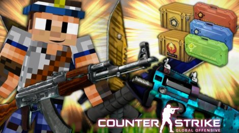 Оружие из Counter Strike GO 1.7.10