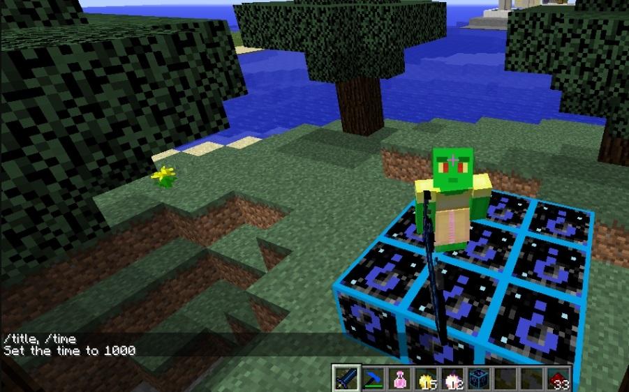 скачать galaxy lucky block 1.8 9