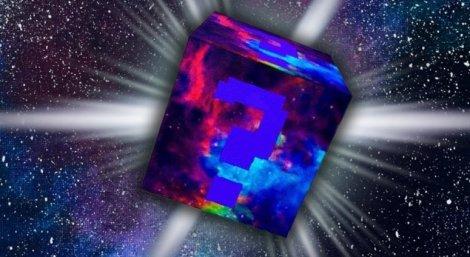 Мод на космический лаки блок - Lucky Block Galaxy 1.8.9, 1.7.10