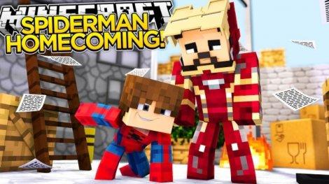 Мод на человека паука - Spider-Man 1.11.2, 1.7.10