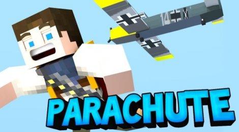 Мод на парашют - Parachute 1.12.2, 1.11.2, 1.8.9, 1.7.10