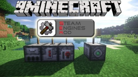 Steam Engines 1.11.2, 1.8.9, 1.7.10